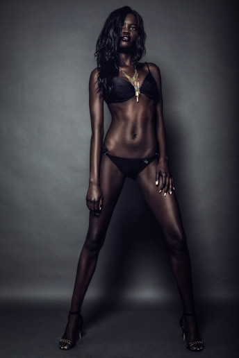 Katia Pershin Photography Portfolio Bikini Black Model