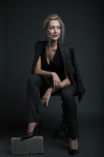 Glamour Photography Female Portrait Blazer Ottawa