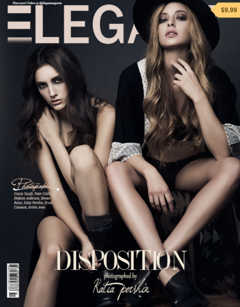 Katia Pershin Fashion Photography Cover_Elegant Magazine_2014_Angie's Models