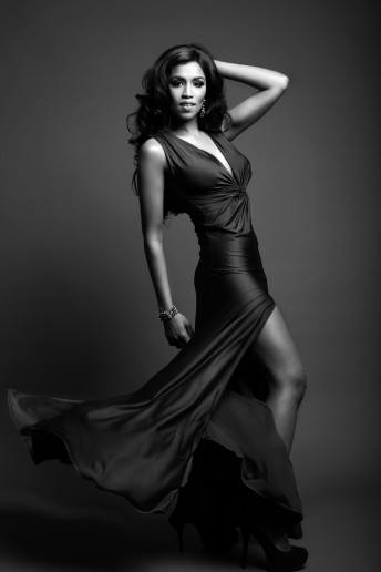 Glamour Portrait Photography Evening gown