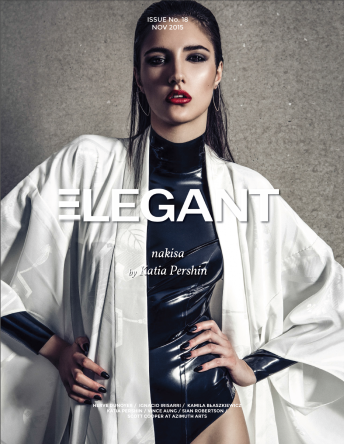Katia Pershin Photography Fashion Elegant Magazine Cover Published