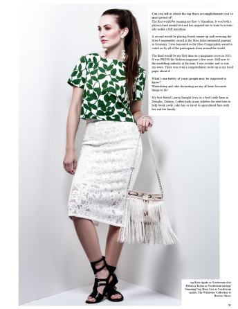 Katia Pershin Photography Press The Fashion Magazine Published Delaney Holley Helene-Alexis Seymour AMTI Fashion