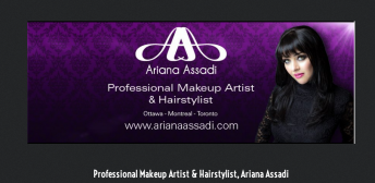 Katia Pershin Photography Commercial Portraits Ariana Assadi Make up artist